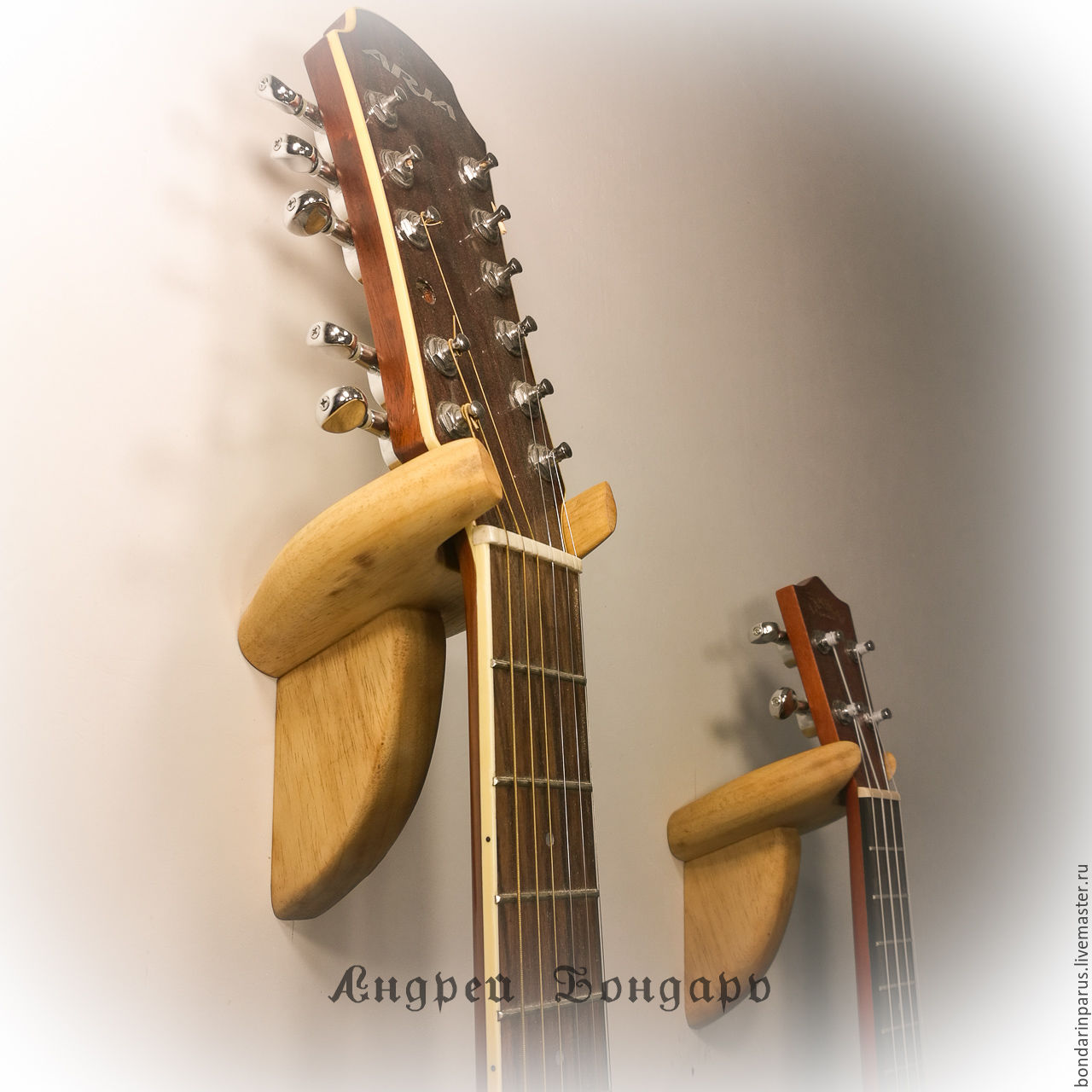 Ремонт гитары своими руками отрвало подставку
