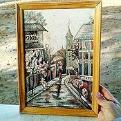 Картины и панно handmade. Livemaster - original item She was in Paris.. Handmade.