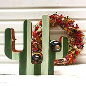 Для дома и интерьера ручной работы. Ярмарка Мастеров - ручная работа Подставка для вина Кактус. Handmade.