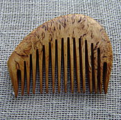Сувениры и подарки handmade. Livemaster - original item The comb is made of Karelian birch. Handmade.