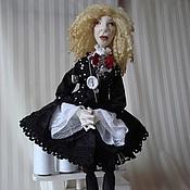 Куклы и игрушки handmade. Livemaster - original item Vika. Handmade.