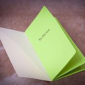 Канцелярские товары handmade. Livemaster - original item ToDo List replacement notebook for Midori Traveler`s Journal color. Handmade.
