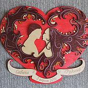 Свадебный салон handmade. Livemaster - original item Gift panels for wedding. Handmade.
