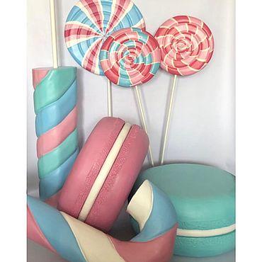 Дизайн и реклама ручной работы. Ярмарка Мастеров - ручная работа Комплект гигантских сладостей. Handmade.