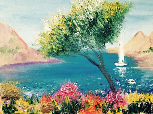 картина маслом на холсте ` Солнечный Прованс`
