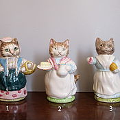 handmade. Livemaster - original item Porcelain figurines of the Beatrix Potter series Royal Albert Beswick. Handmade.