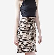 Одежда handmade. Livemaster - original item Skirt microvalve front closure. Handmade.