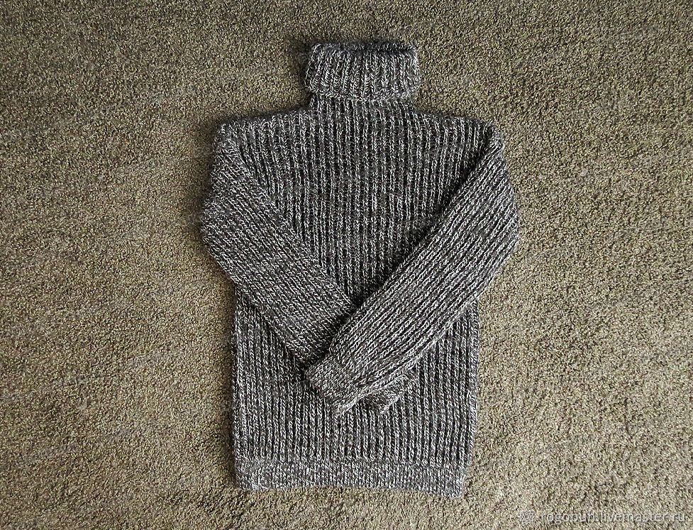 Sweater knit made of wool (No. №299), Sweaters, Nalchik,  Фото №1