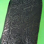 Skirts handmade. Livemaster - original item Dressy skirt with lurex black. Handmade.