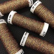 Нитки ручной работы. Ярмарка Мастеров - ручная работа Metallics Tresse 8, цвет 447, металлизированные нити, Франция. Handmade.