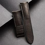 Украшения handmade. Livemaster - original item Calf leather watchband (34). Handmade.
