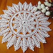 Для дома и интерьера handmade. Livemaster - original item Napkin Lacy circle.. Handmade.