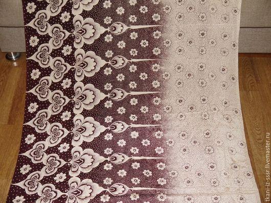 Шитье ручной работы. Ярмарка Мастеров - ручная работа. Купить 5 Крепдешин Натуральный шелк винтаж СССР 2 м 95 см. Handmade.