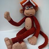 Куклы и игрушки ручной работы. Ярмарка Мастеров - ручная работа Мартышка и очки. Handmade.