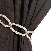 Материалы для творчества handmade. Livemaster - original item Tiebacks Oval. Handmade.