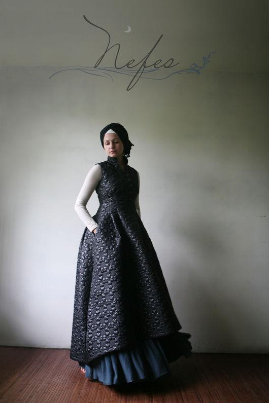"""Платья ручной работы. Ярмарка Мастеров - ручная работа. Купить Платье """"Аббаса"""". Handmade. Черный, длинное платье, мусульманские платья"""