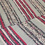 Для дома и интерьера ручной работы. Ярмарка Мастеров - ручная работа Островок № 1302 Домотканый половик / ковер. Handmade.