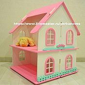 handmade. Livemaster - original item Large Two-Story Dollhouse. Handmade.