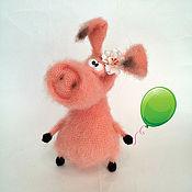 Мягкие игрушки ручной работы. Ярмарка Мастеров - ручная работа Свинка Аринка. Handmade.