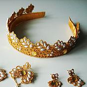 Украшения handmade. Livemaster - original item Bezel crown. Handmade.