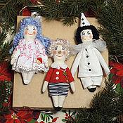 Подарки к праздникам handmade. Livemaster - original item Christmas toys, Christmas toys on the Christmas tree, Christmas decorations. Handmade.