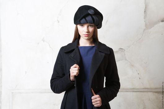 Шляпы ручной работы. Ярмарка Мастеров - ручная работа. Купить Берет стильный. Handmade. Берет, дизайнерский берет, авторская шляпа