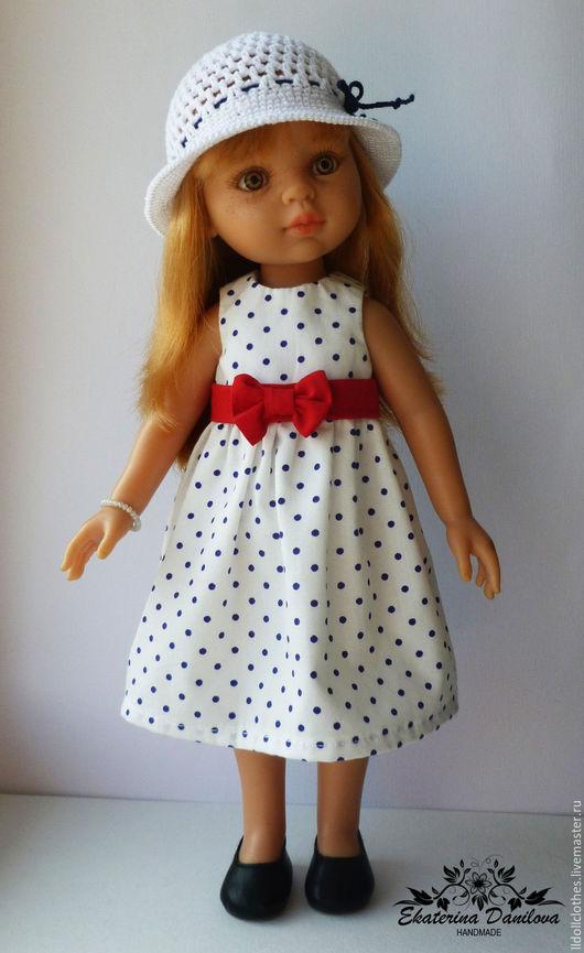 Одежда для кукол ручной работы. Ярмарка Мастеров - ручная работа. Купить Продано Комплект для куклы Paola Reina. Handmade. Белый