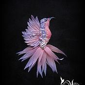 Украшения handmade. Livemaster - original item Brooch .Brooch Hummingbird-