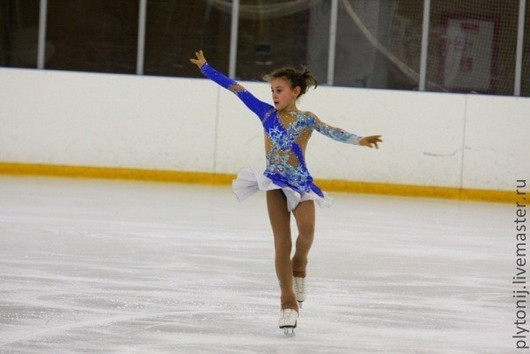 For Teenagers handmade. Livemaster - handmade. Buy Dress for figure skating.Dress for performances, supplex