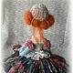 """Коллекционные куклы ручной работы. Ярмарка Мастеров - ручная работа. Купить Будуарная Кукла """"Стрекоза"""". Handmade. Розовый, интерьерная кукла"""