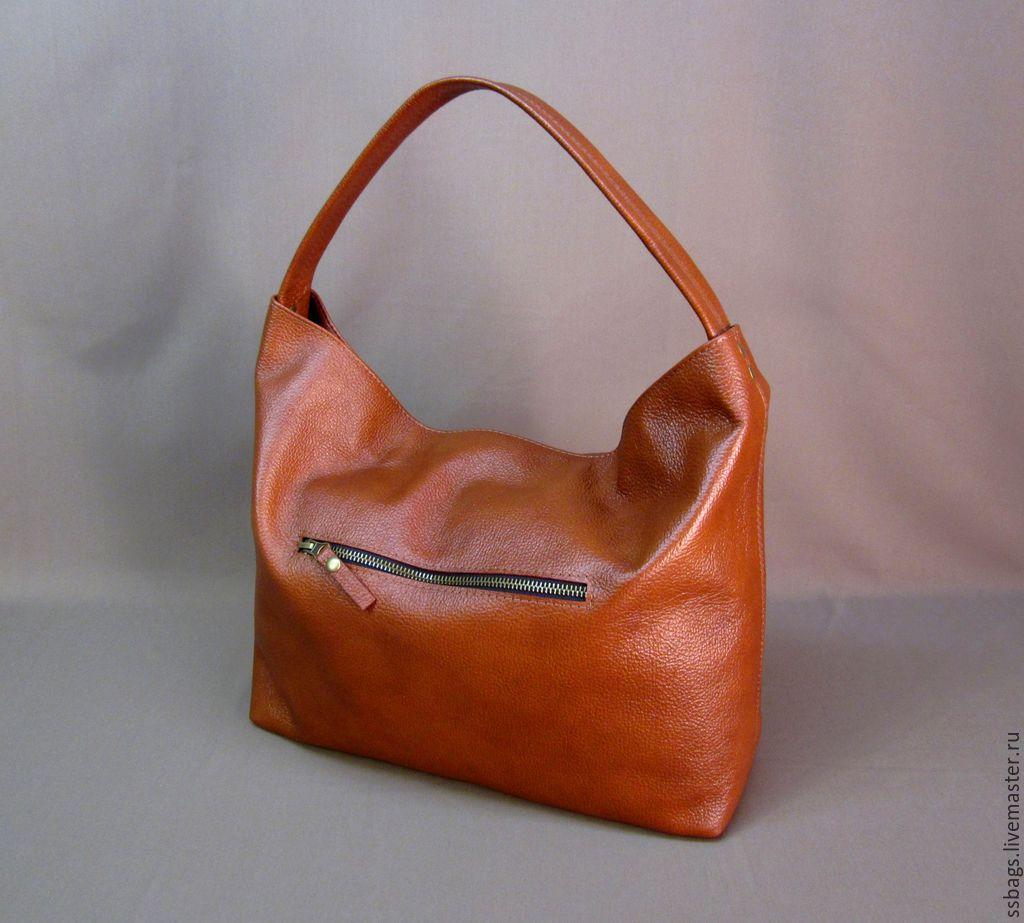 c5b7c1437440 Женские сумки ручной работы. Ярмарка Мастеров - ручная работа. Купить Сумка- мешок рыже ...