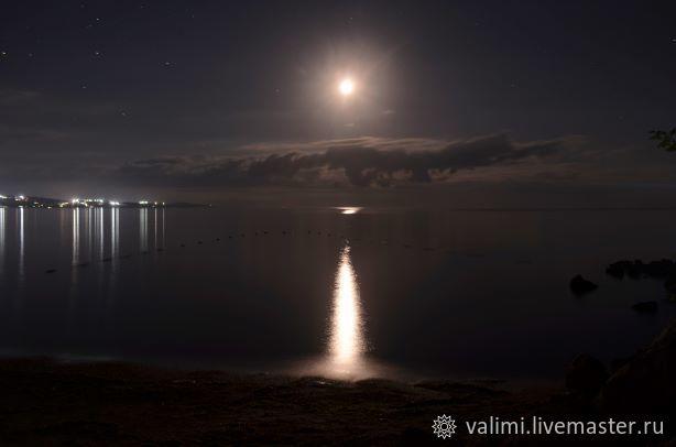 Фотокартина Лунная дорожка, Фотографии, Москва,  Фото №1