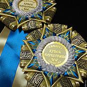 Для домашних животных, ручной работы. Ярмарка Мастеров - ручная работа Наградная Розетка. Handmade.