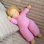 Куклы и игрушки ручной работы. Ярмарка Мастеров - ручная работа Вальдорфская куколка Розочка. Handmade.