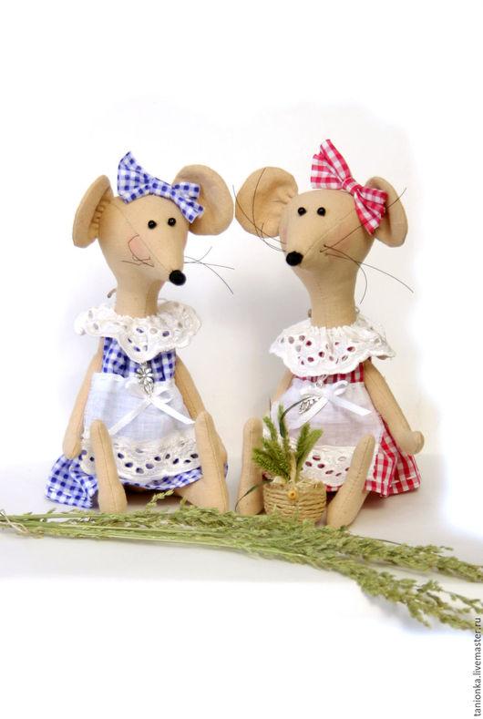 """Игрушки животные, ручной работы. Ярмарка Мастеров - ручная работа. Купить Текстильная игрушка """"Мышка Мики."""". Handmade. Розовый"""
