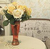 Для дома и интерьера ручной работы. Ярмарка Мастеров - ручная работа ПЛАМЯ ваза для цветов. Handmade.