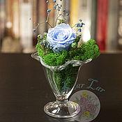 Флорариумы ручной работы. Ярмарка Мастеров - ручная работа Флорариум - десерт. Handmade.
