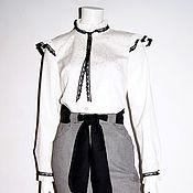 Одежда ручной работы. Ярмарка Мастеров - ручная работа Блузка   модель 91610. Handmade.