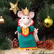 Год Крысы ручной работы. Ярмарка Мастеров - ручная работа Королева крыс (символ 2020 года). Handmade.