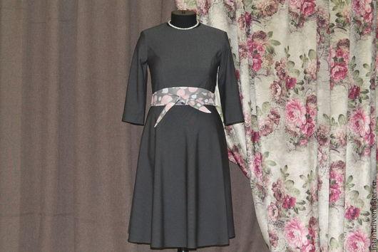 Платья ручной работы. Ярмарка Мастеров - ручная работа. Купить Платье. Handmade. Платье, женская одежда, новые тенденции, вискоза