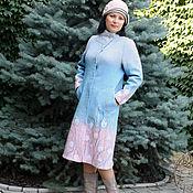 """Одежда ручной работы. Ярмарка Мастеров - ручная работа Пальто  """"Рассвет"""" - авторский войлок. Handmade."""