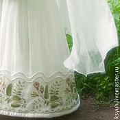 Субкультуры ручной работы. Ярмарка Мастеров - ручная работа вышивка на свадебном платье. Handmade.