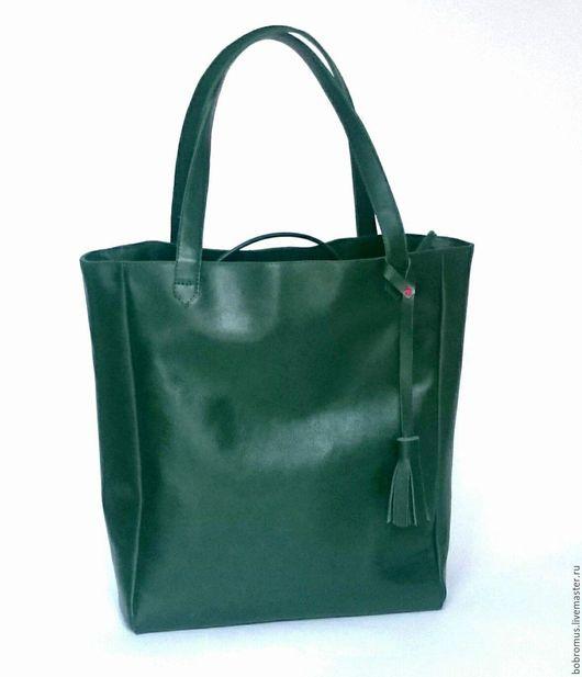 Женские сумки ручной работы. Ярмарка Мастеров - ручная работа. Купить Комплект сумка и косметичка из  кожи. Handmade. Комбинированный, комплект