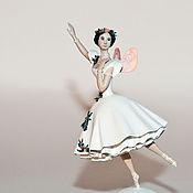 Для дома и интерьера handmade. Livemaster - original item Ballerina, indoor figurine. Handmade.