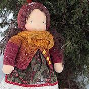 Вальдорфская кукла Вероника, рост 34 см