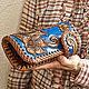Order Women's Leather wallet 'Favorite flower' color. schwanzchen. Livemaster. . Wallets Фото №3