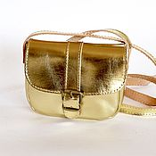 Сумки и аксессуары ручной работы. Ярмарка Мастеров - ручная работа Маленькая сумочка-клатч через плечо - разные цвета кожи. Handmade.