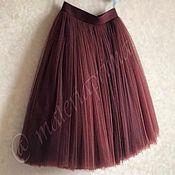 Одежда ручной работы. Ярмарка Мастеров - ручная работа Юбка из тюля Korizza (юбка- пачка, юбка - шопенка). Handmade.