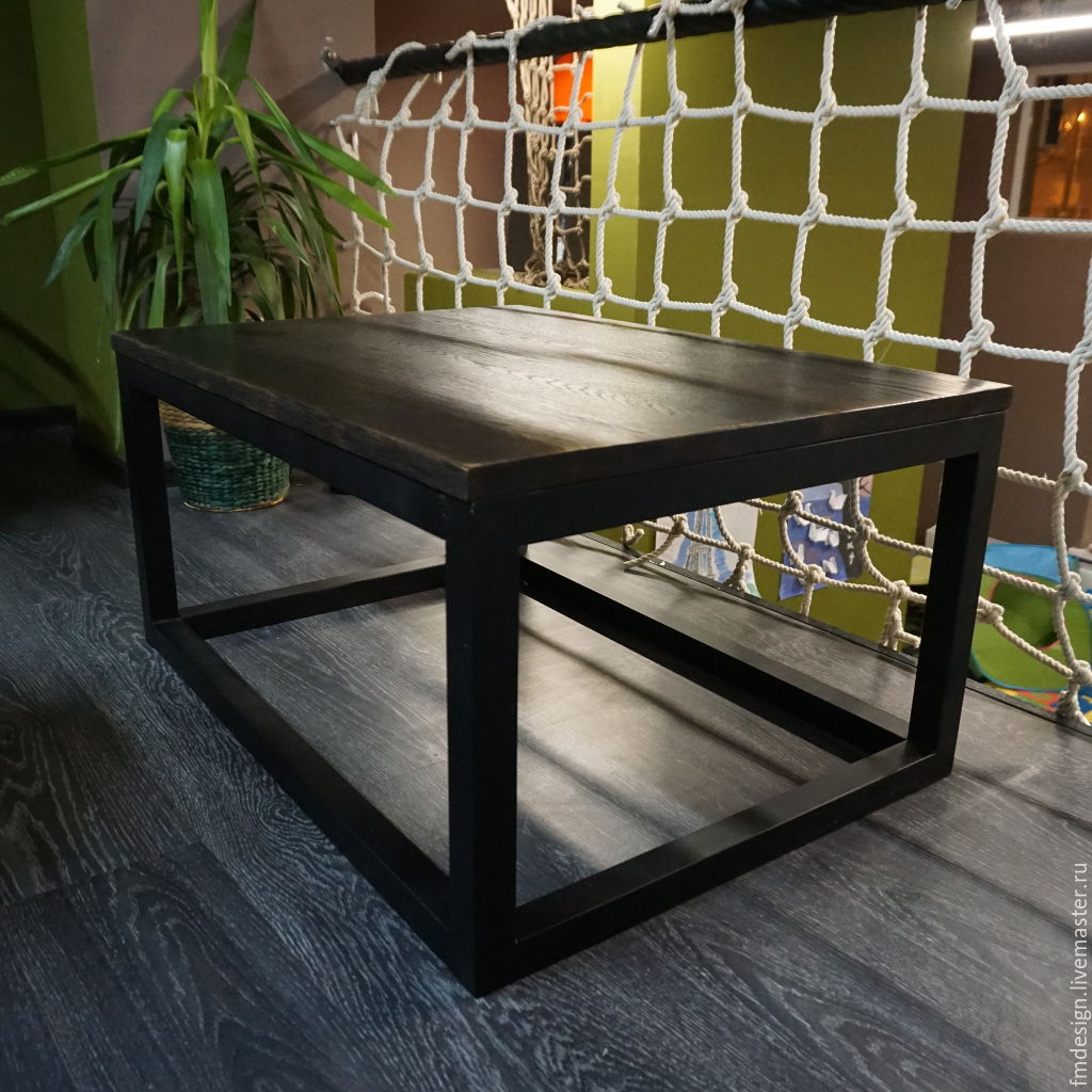 кофейный столик в стиле Loft купить в интернет магазине на ярмарке
