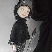 """Куклы и игрушки ручной работы. Ярмарка Мастеров - ручная работа """"Ход белой королевы""""шахматная фигура Алёша. Handmade."""